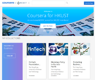 Be a life-long learner and join us on Coursera for HKUST! | CEI