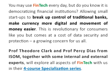 Coursera for HKUST – What's the big deal with FinTech? | CEI
