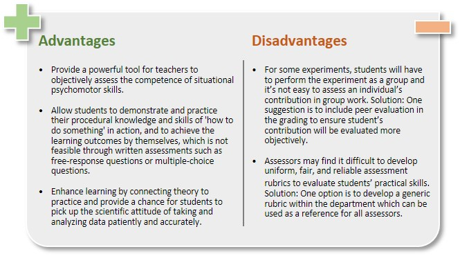 advantages and disadvantages of multiple choice